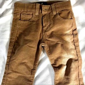 BABYCOTTONS brown/tan corduroy jeans size 4 🍰